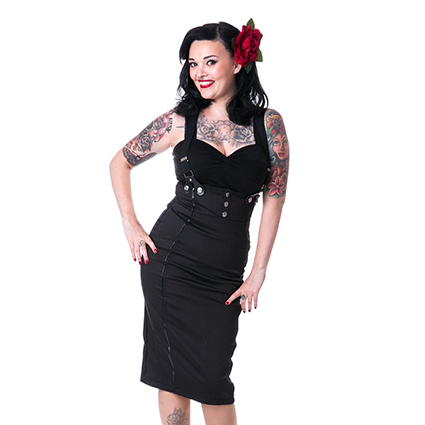 ellen skirt black rockabella 1